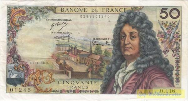 Morant/Tondu/Bouchet - (Sie sehen ein Musterbild, nicht die angebotene Banknote)