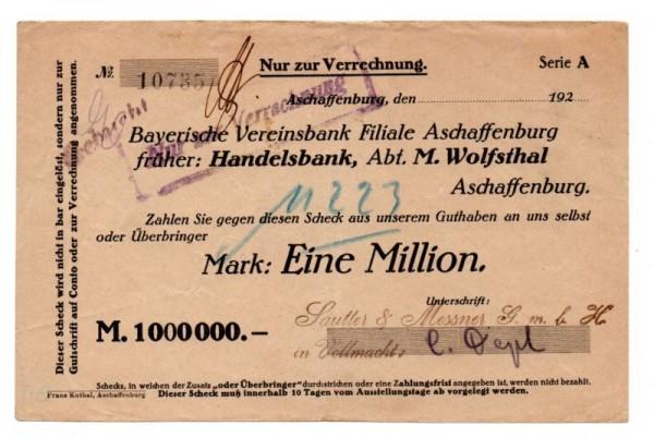 oD - (Sie sehen ein Musterbild, nicht die angebotene Banknote)