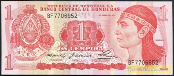 29.5.80 - (Sie sehen ein Musterbild, nicht die angebotene Banknote)