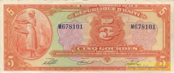 ABNC, G-M - (Sie sehen ein Musterbild, nicht die angebotene Banknote)