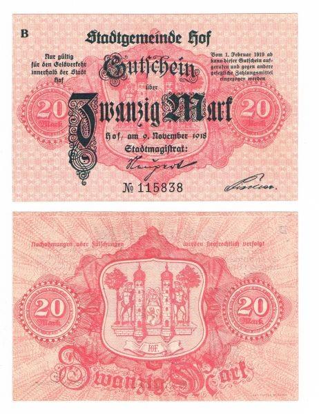 9.11.18, B, C - (Sie sehen ein Musterbild, nicht die angebotene Banknote)