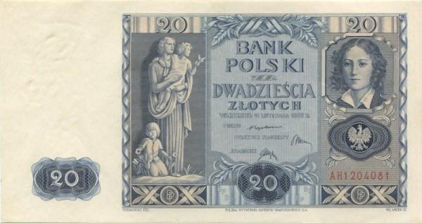 11.11.36 - (Sie sehen ein Musterbild, nicht die angebotene Banknote)