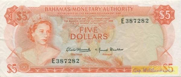 L 1968 - (Sie sehen ein Musterbild, nicht die angebotene Banknote)