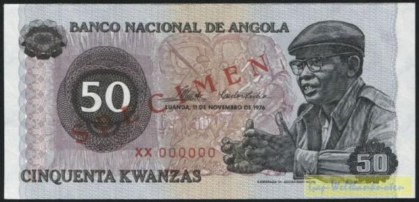 11.11.76 - (Sie sehen ein Musterbild, nicht die angebotene Banknote)