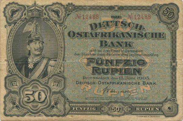 KN 5st Vs und Rs - (Sie sehen ein Musterbild, nicht die angebotene Banknote)