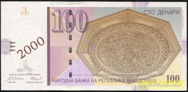 """GA (Millenium), Üdr. """"2000"""" - (Sie sehen ein Musterbild, nicht die angebotene Banknote)"""
