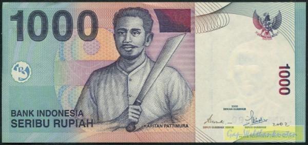 2000/2001 - (Sie sehen ein Musterbild, nicht die angebotene Banknote)