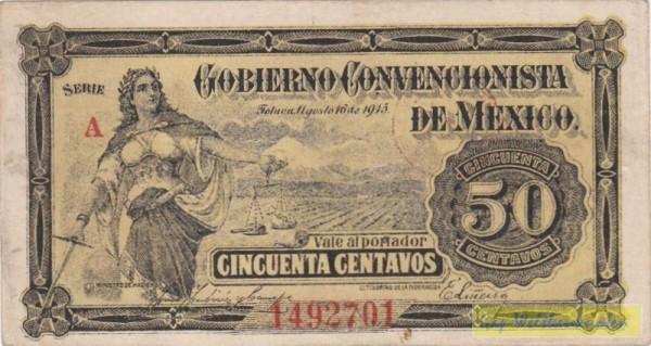 16.8.15 - (Sie sehen ein Musterbild, nicht die angebotene Banknote)
