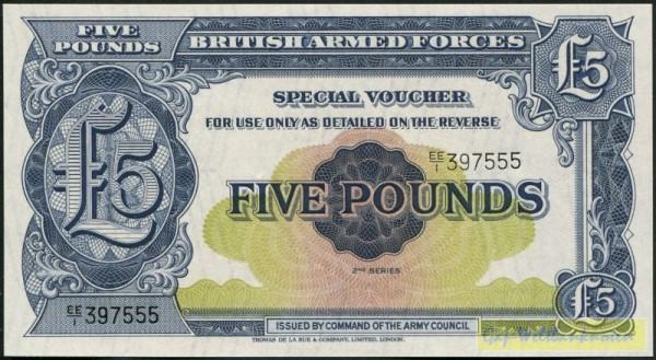 2. Serie - (Sie sehen ein Musterbild, nicht die angebotene Banknote)
