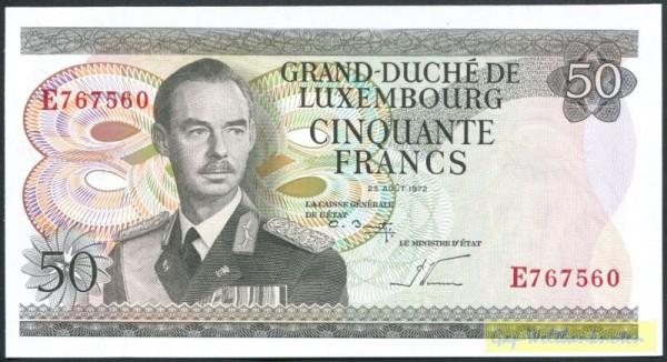 UT: Le Ministre d`Etat - (Sie sehen ein Musterbild, nicht die angebotene Banknote)