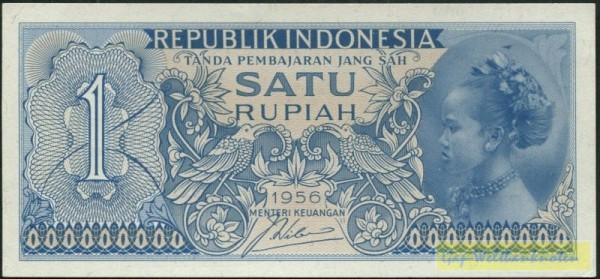 1956 - (Sie sehen ein Musterbild, nicht die angebotene Banknote)