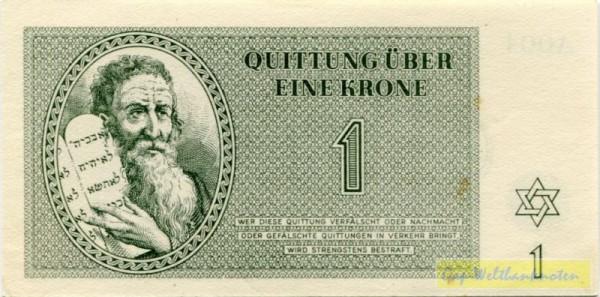 1.1.43 - (Sie sehen ein Musterbild, nicht die angebotene Banknote)