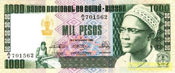 """UT links """"Primeiro Ministro"""" - (Sie sehen ein Musterbild, nicht die angebotene Banknote)"""