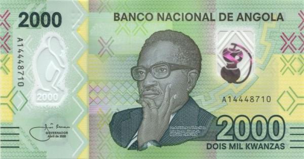 April 2020 - (Sie sehen ein Musterbild, nicht die angebotene Banknote)