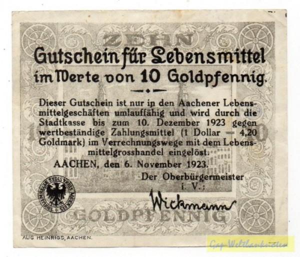 6.11.23, Gutschein für Lebensmittel - (Sie sehen ein Musterbild, nicht die angebotene Banknote)