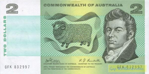 Phillips-Randall - (Sie sehen ein Musterbild, nicht die angebotene Banknote)