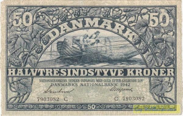 1942C - (Sie sehen ein Musterbild, nicht die angebotene Banknote)