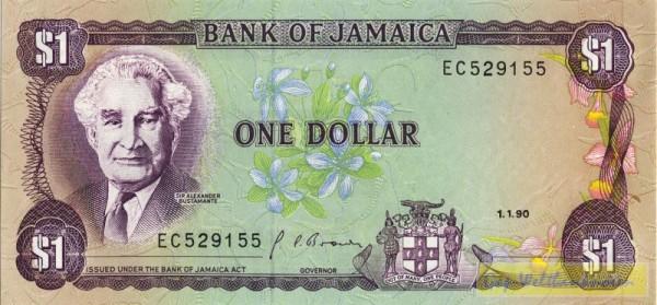 1.1.90, Us. 10 - (Sie sehen ein Musterbild, nicht die angebotene Banknote)