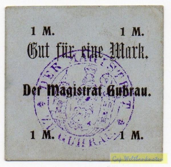 oD, Original, Wertzeile in Fraktur - (Sie sehen ein Musterbild, nicht die angebotene Banknote)