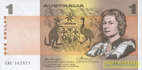 Knight-Wheeler, Sf. seitl. - (Sie sehen ein Musterbild, nicht die angebotene Banknote)