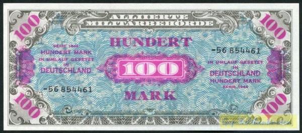 """1944, KN 8st, ohne """"F"""" - (Sie sehen ein Musterbild, nicht die angebotene Banknote)"""