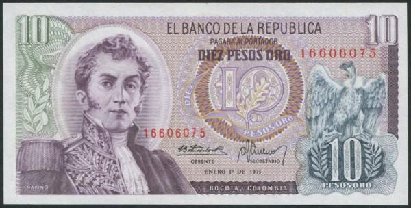 1.1.75 - (Sie sehen ein Musterbild, nicht die angebotene Banknote)