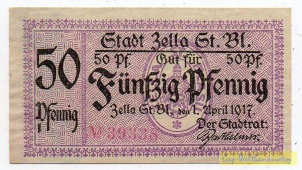 1.4.17, № KN, Papier etwas grau - (Sie sehen ein Musterbild, nicht die angebotene Banknote)