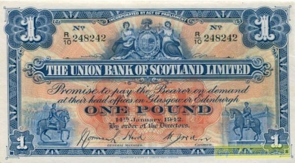14.1.42 - (Sie sehen ein Musterbild, nicht die angebotene Banknote)