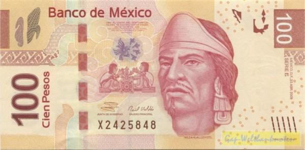 23.4.09, E - (Sie sehen ein Musterbild, nicht die angebotene Banknote)
