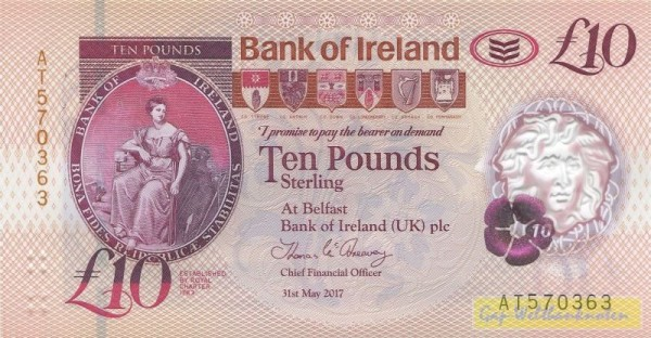 31.5.17 - (Sie sehen ein Musterbild, nicht die angebotene Banknote)