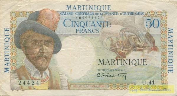 (1947-49) - (Sie sehen ein Musterbild, nicht die angebotene Banknote)