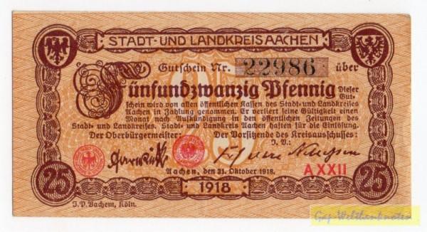 31.10.18, Pap weiß - (Sie sehen ein Musterbild, nicht die angebotene Banknote)