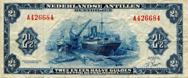 1955 - (Sie sehen ein Musterbild, nicht die angebotene Banknote)