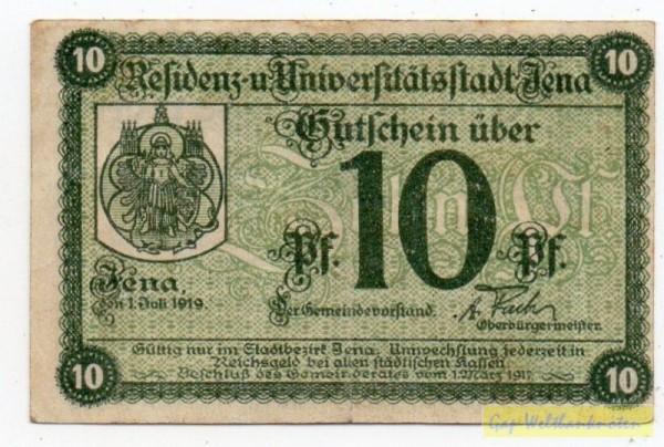 1.7.19, KN Type II - (Sie sehen ein Musterbild, nicht die angebotene Banknote)