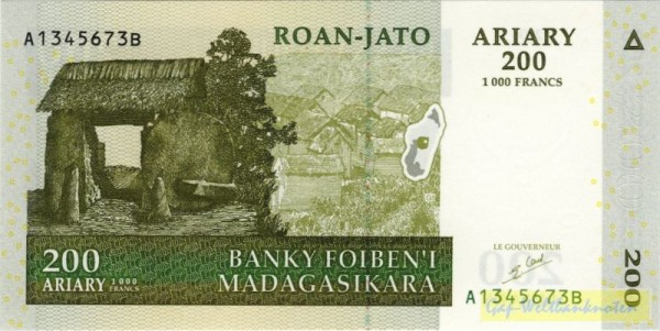 2004, Us. 5 - (Sie sehen ein Musterbild, nicht die angebotene Banknote)