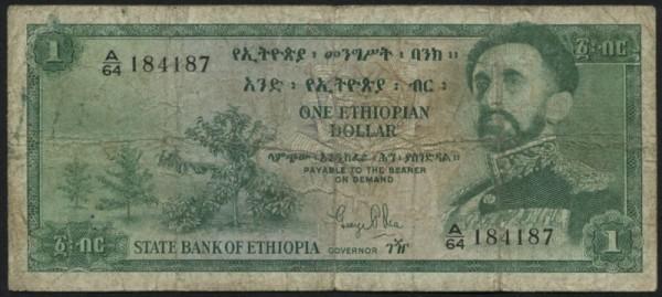 (1961) - (Sie sehen ein Musterbild, nicht die angebotene Banknote)
