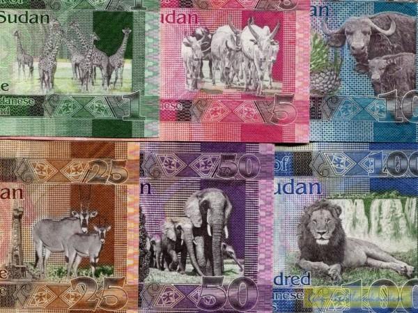 2011/15, 6 Scheine - (Sie sehen ein Musterbild, nicht die angebotene Banknote)