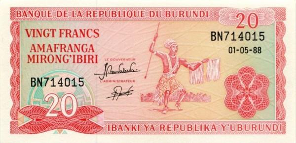 1.5.88 - (Sie sehen ein Musterbild, nicht die angebotene Banknote)