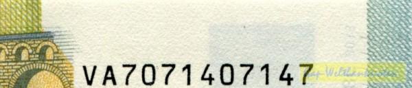 V001,003,004,010 - (Sie sehen ein Musterbild, nicht die angebotene Banknote)