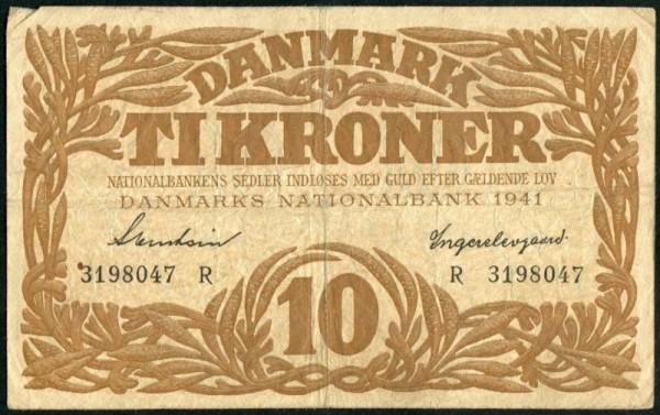 1941R - (Sie sehen ein Musterbild, nicht die angebotene Banknote)