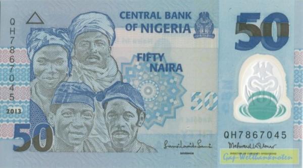 2013, Us. 17 - (Sie sehen ein Musterbild, nicht die angebotene Banknote)