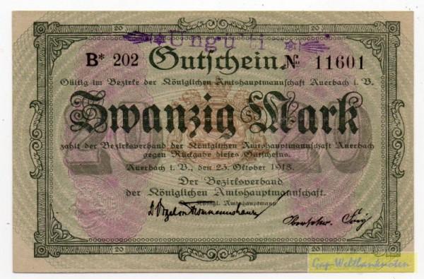 23.10.18, Wz Wellenbündel, No KN, entw. - (Sie sehen ein Musterbild, nicht die angebotene Banknote)