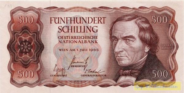 1.7.65 - (Sie sehen ein Musterbild, nicht die angebotene Banknote)