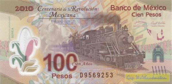 20.11.07, D KN, GA: 100 J. Revolution - (Sie sehen ein Musterbild, nicht die angebotene Banknote)