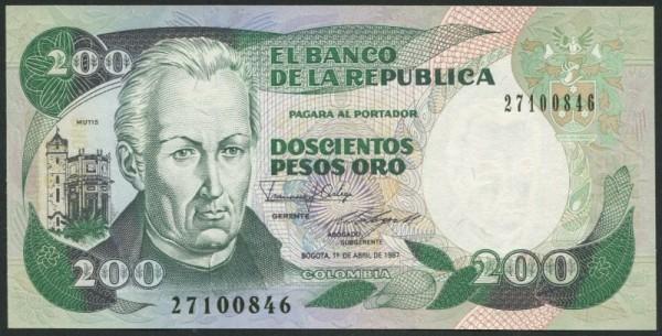 1.4.87, IBB - (Sie sehen ein Musterbild, nicht die angebotene Banknote)