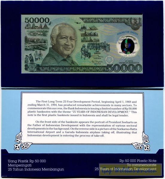 im Umschlag - (Sie sehen ein Musterbild, nicht die angebotene Banknote)