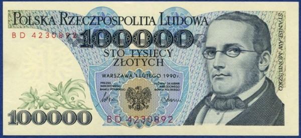 1.2.90, XX - (Sie sehen ein Musterbild, nicht die angebotene Banknote)