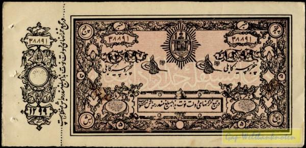 SH1299=AD1920, übl. Hftl. - (Sie sehen ein Musterbild, nicht die angebotene Banknote)