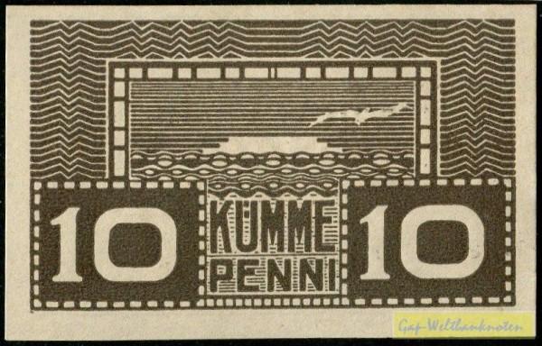 braun - (Sie sehen ein Musterbild, nicht die angebotene Banknote)