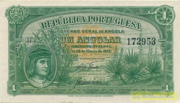D1942 - (Sie sehen ein Musterbild, nicht die angebotene Banknote)
